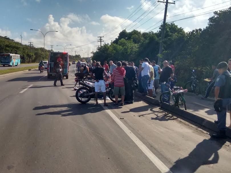 Ciclista tem braço decepado durantre atropelamento na Rodovia do ...
