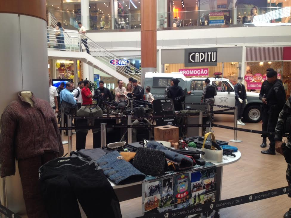 Batalhão da Polícia Militar promove exposição com equipamentos ...