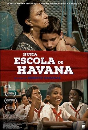 Cartaz Numa Escola De Havana