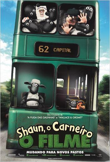 Cartaz Shaun, O Carneiro