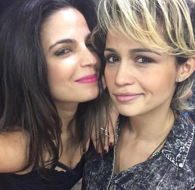 Nanda Costa estaria namorando a cantora e atriz Emanuelle Araújo ...