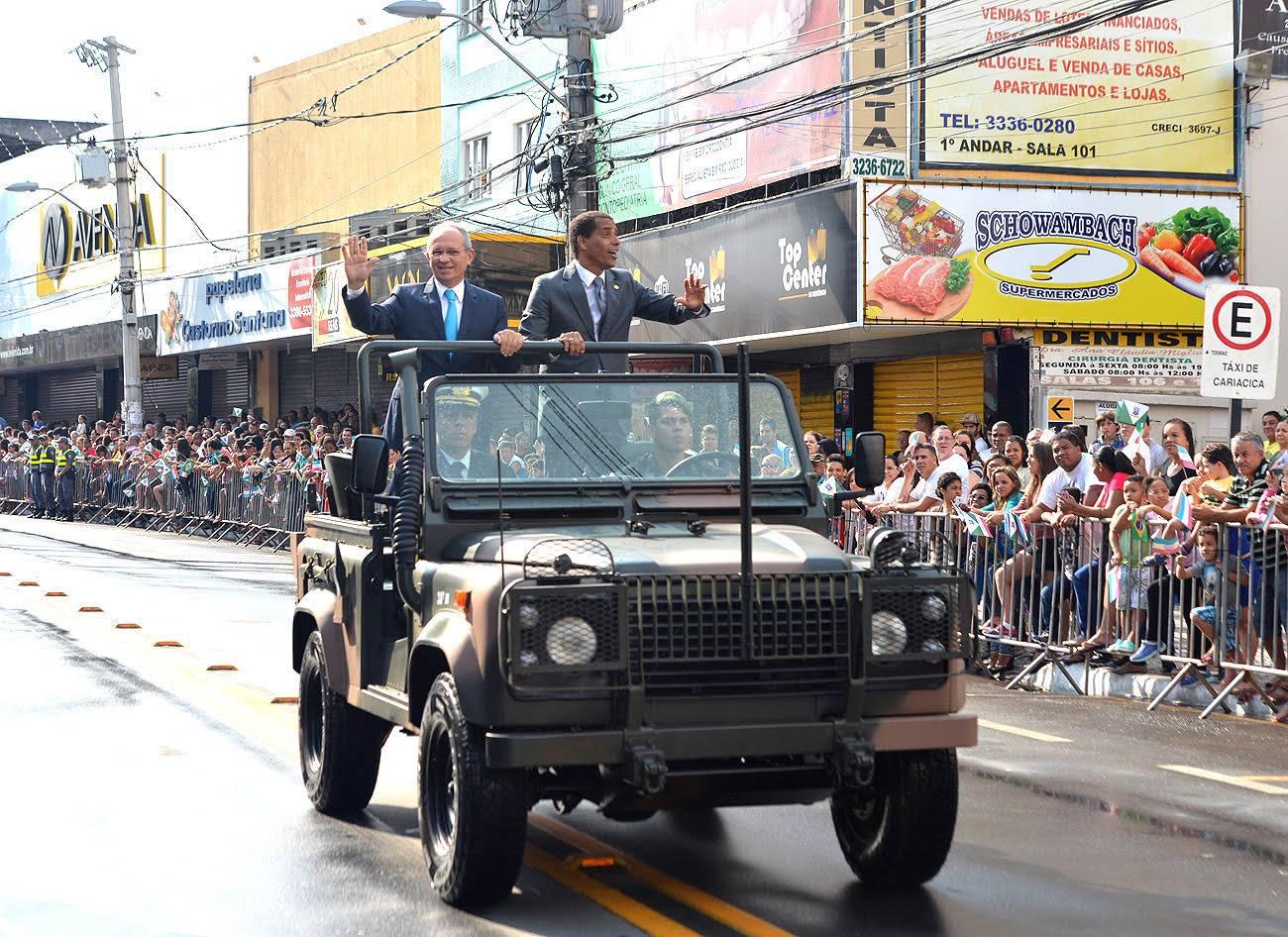 Desfile militar do 7 de Setembro será realizado em Cariacica pelo ...