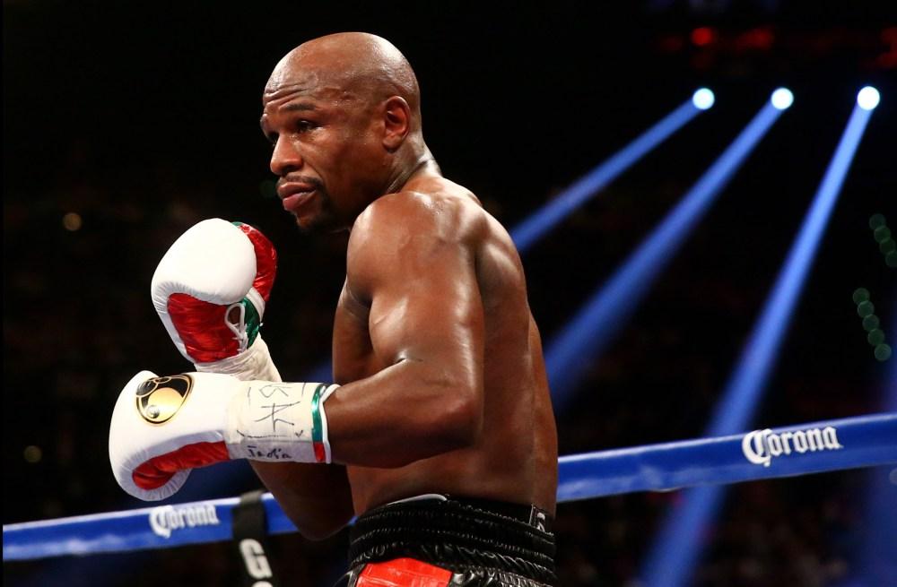 Em Las Vegas, Floyd Mayweather busca recorde em sua luta de ...