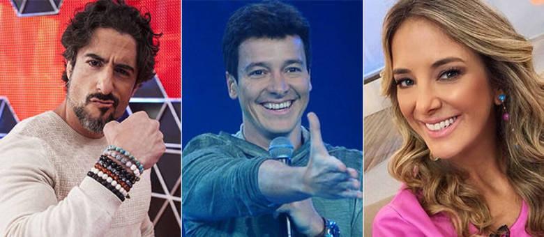 Marcos Mion, Rodrigo Faro e Ticiane Pinheiro comandam o ...