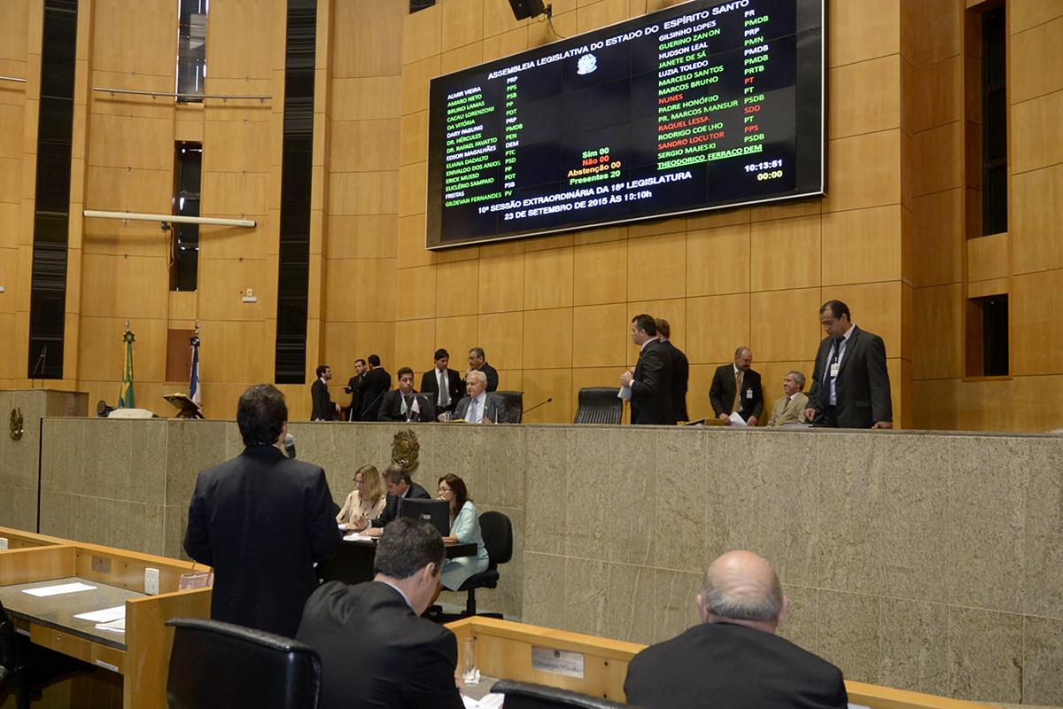 Assembleia aprova projeto sobre contratação de servidores ...