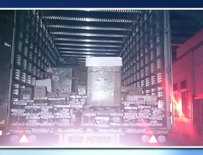 Carga roubada em Marechal Floriano avaliada em mais de R$ 600 ...