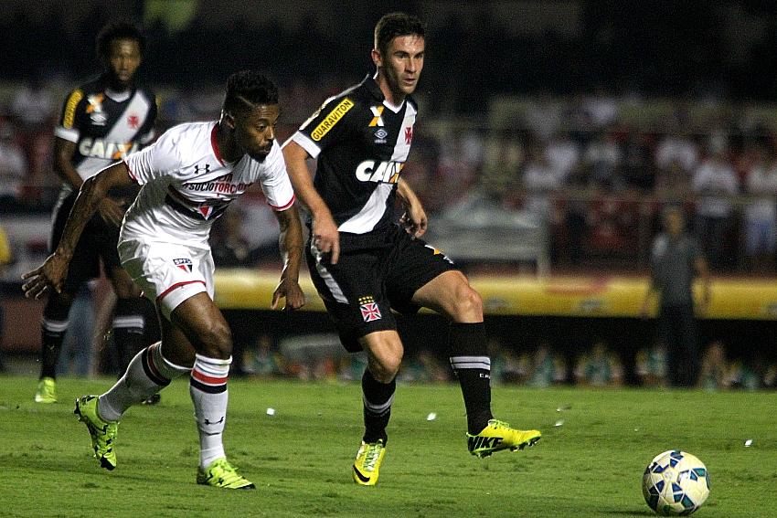 Após polêmica, Vasco tenta a recuperação contra o São Paulo no ...