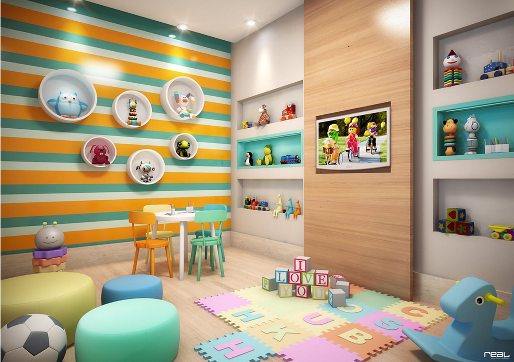 Residencial será entregue com área de lazer montada e decorada ...