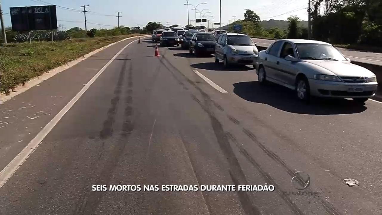 Seis pessoas morreram nas estradas do ES durante o feriado ...