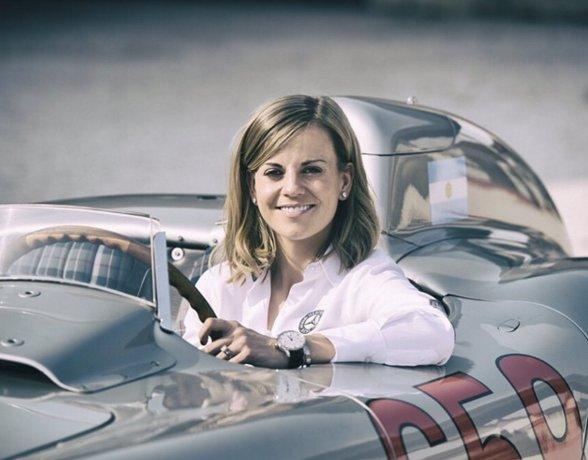 Sem chances na Williams, Susie Wolff deixará o automobilismo no ...