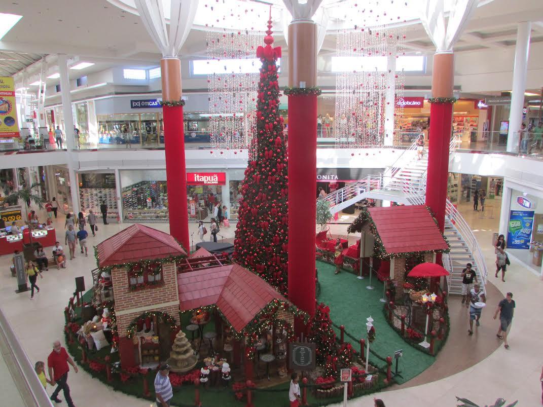 Papai Noel chega aos shoppings da Grande Vitória com bicicleta ...