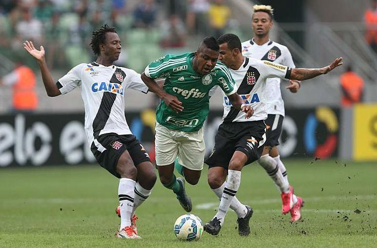 Palmeiras perde em casa e vê Vasco ganhar fôlego na luta contra o ...