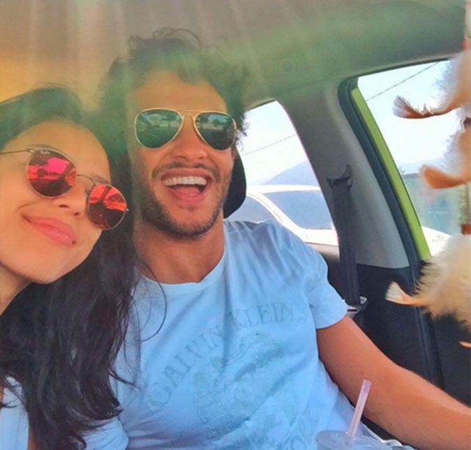Nando Rodrigues e Yanna Lavigne mostram todo o amor em clique ...