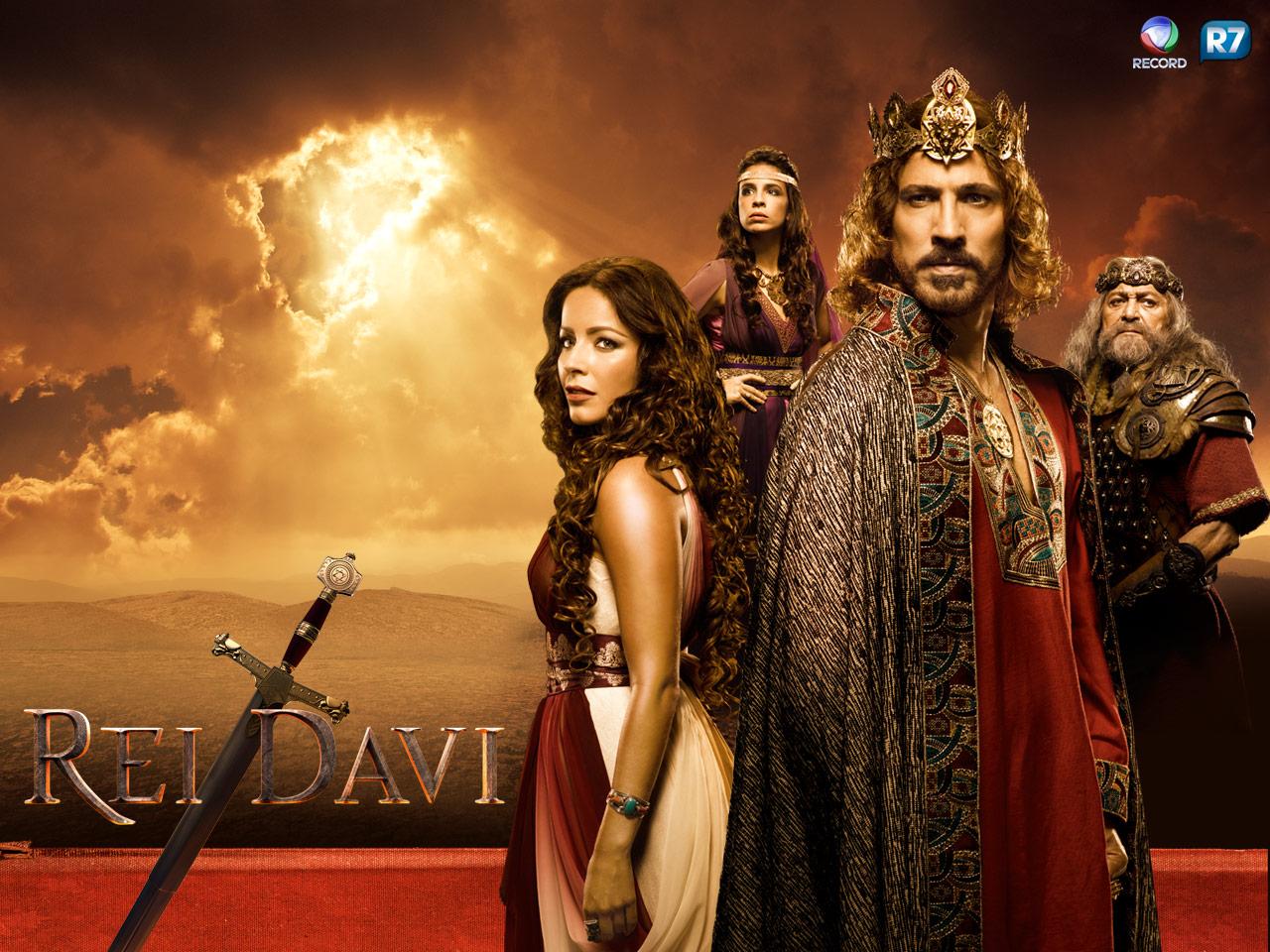 ' Rei Davi' reestreia na Record com melhor audiência entre ...