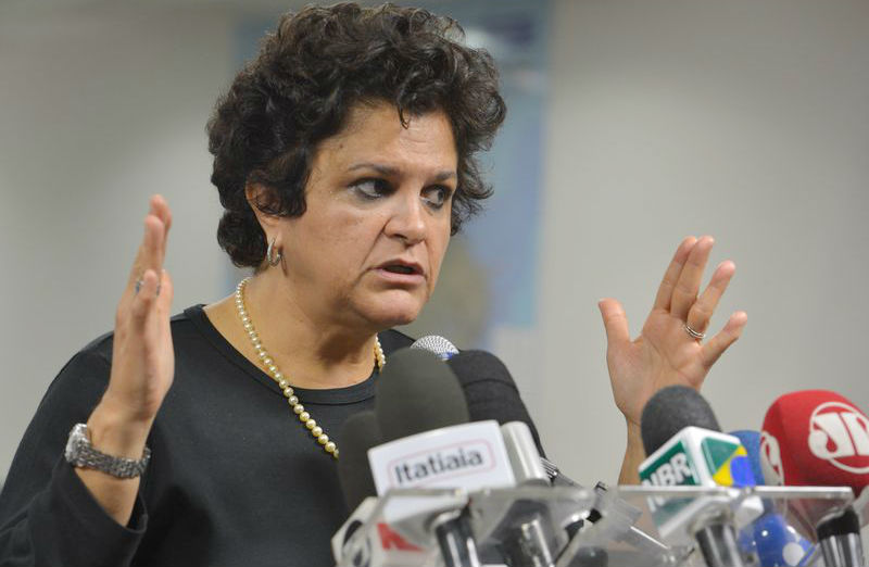 Ministra diz que lama de minério não deve chegar ao litoral de Vitória