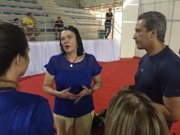 Vitória pode sediar treinos da equipe ucraniana de ginástica antes ...
