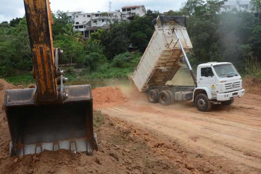 Nova barragem começa a ser construída no Rio Pequeno em ...