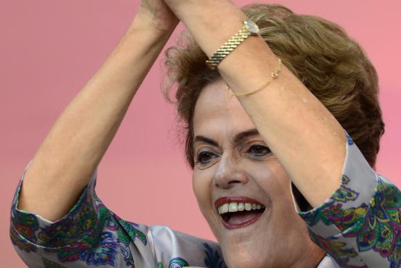 A presidenta Dilma Rousseff participa da abertura da 3ª Conferência Nacional de Juventude, em Brasília