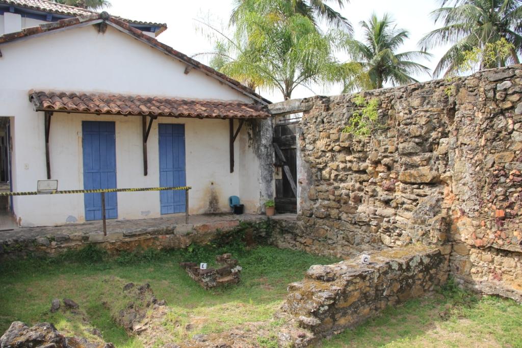O santuário foi erguido entre meados do século 16 e início do século 17.