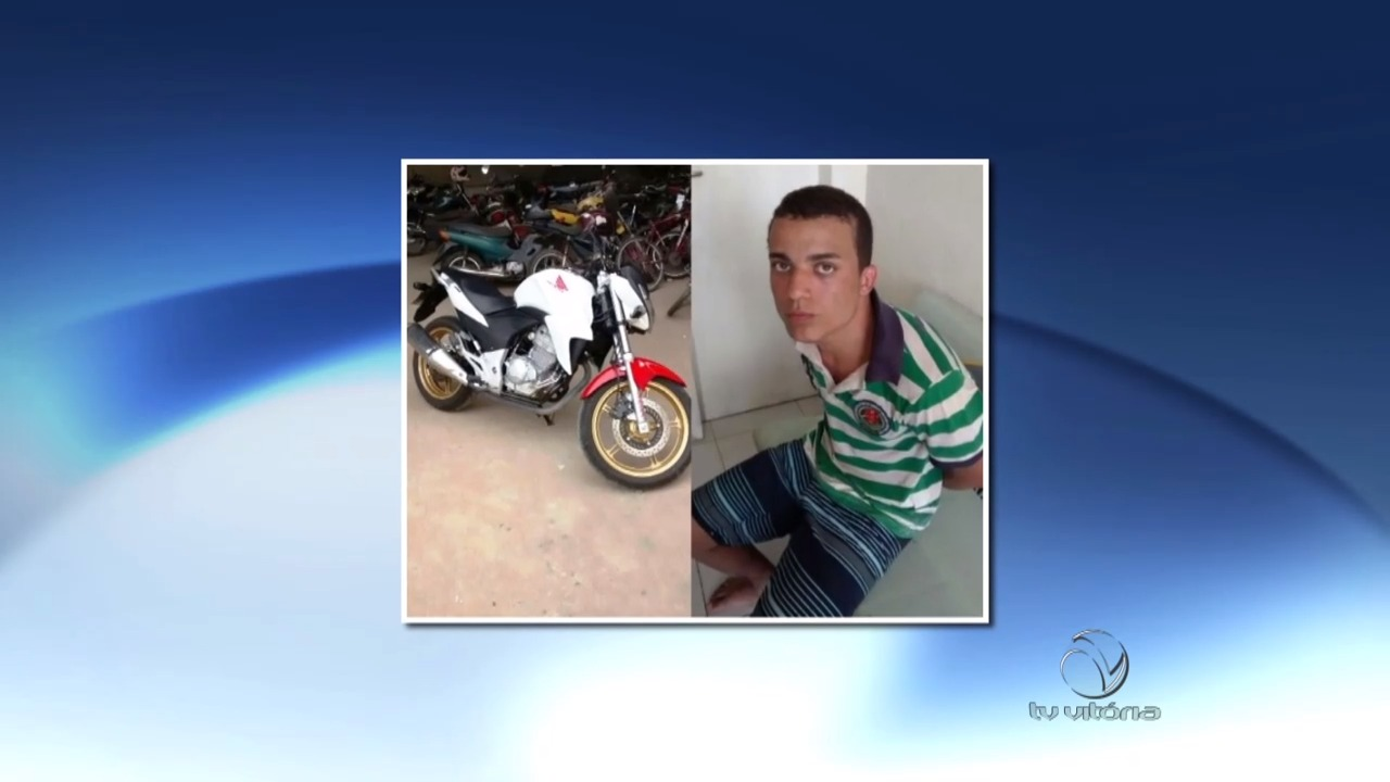 Foragido do presídio de Linhares é preso com moto roubada | Folha ...