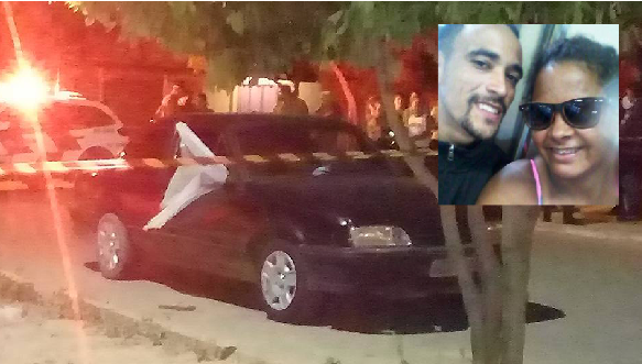 Grávida e companheiro são assassinados dentro de veículo em ...