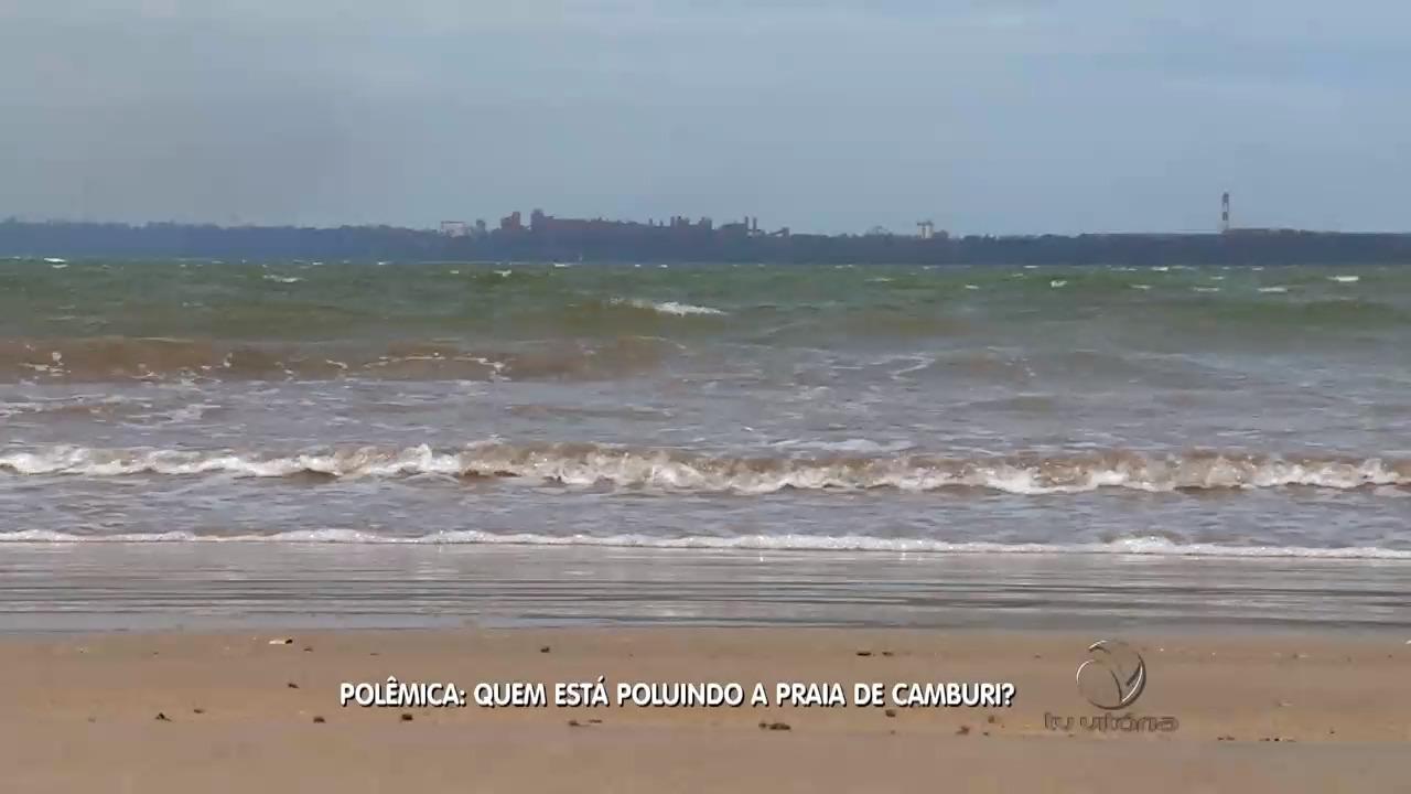 Polêmica: Quem está poluindo a praia de Camburi? | Folha Vitória