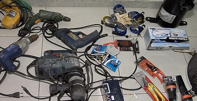 Polícia apreende peças furtadas de estabelecimentos em ferro ...
