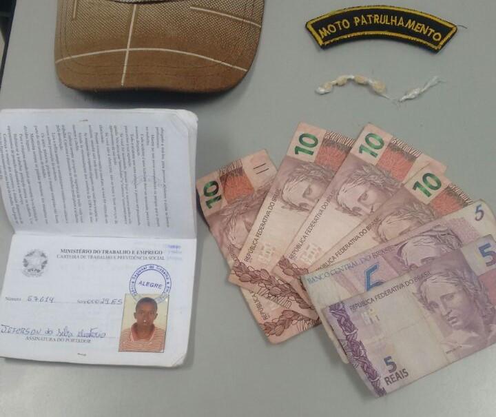 Polícia Militar apreende drogas durante a madrugada em Alegre ...
