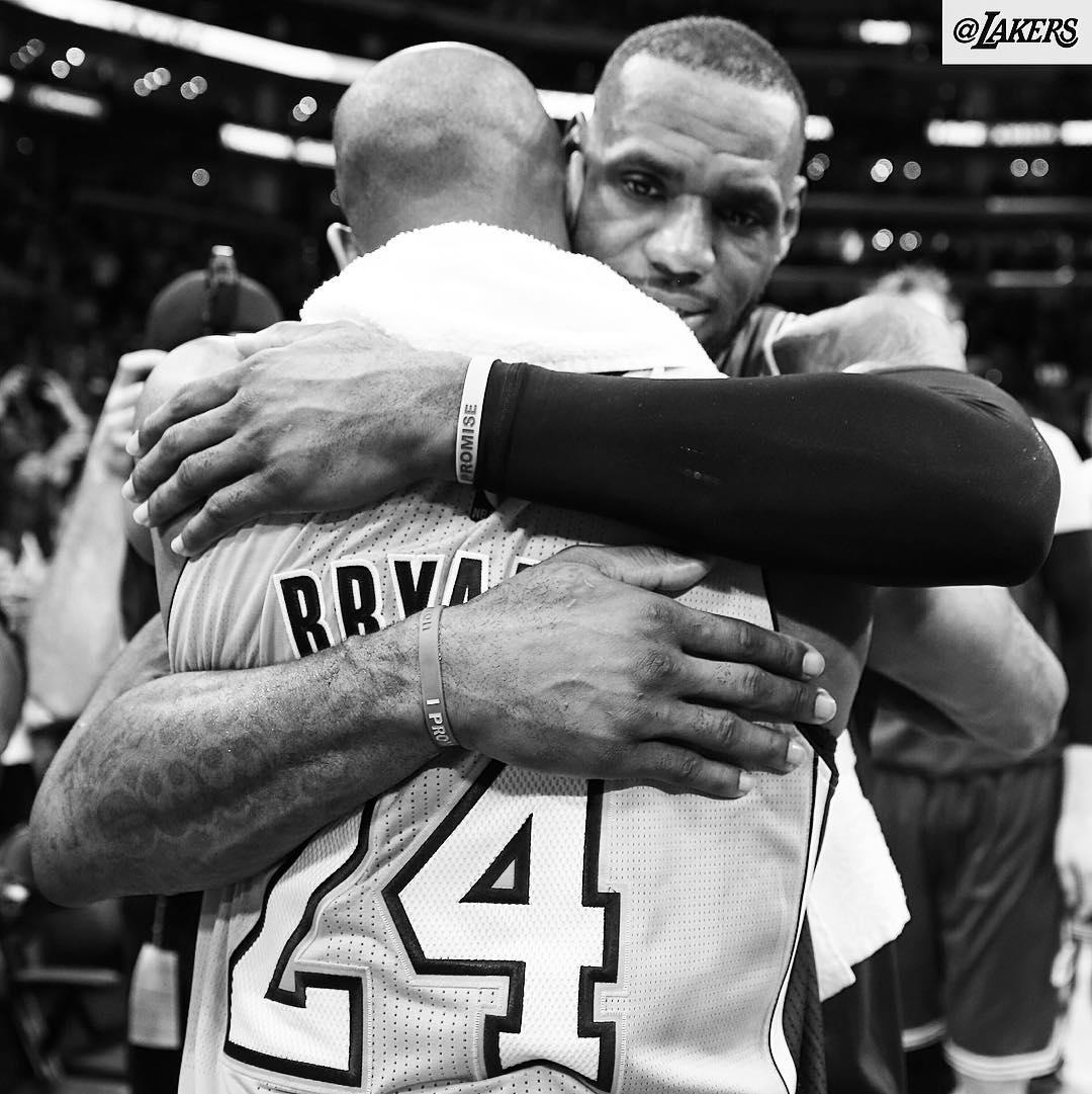 Cavaliers bate Lakers no último duelo entre LeBron e Kobe na NBA ...