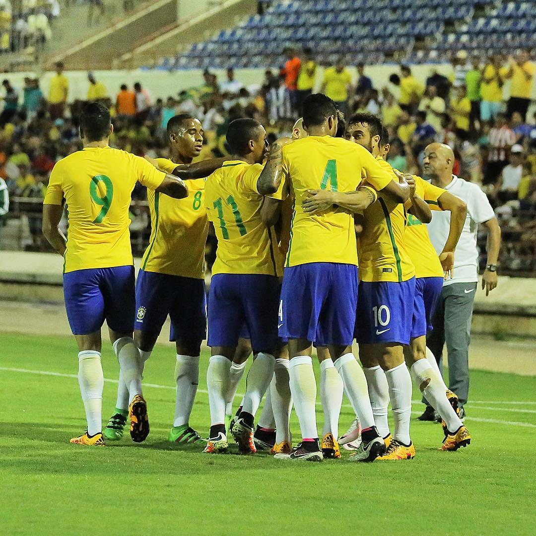 Seleção olímpica se redime de fiasco em Cariacica e bate África do ...