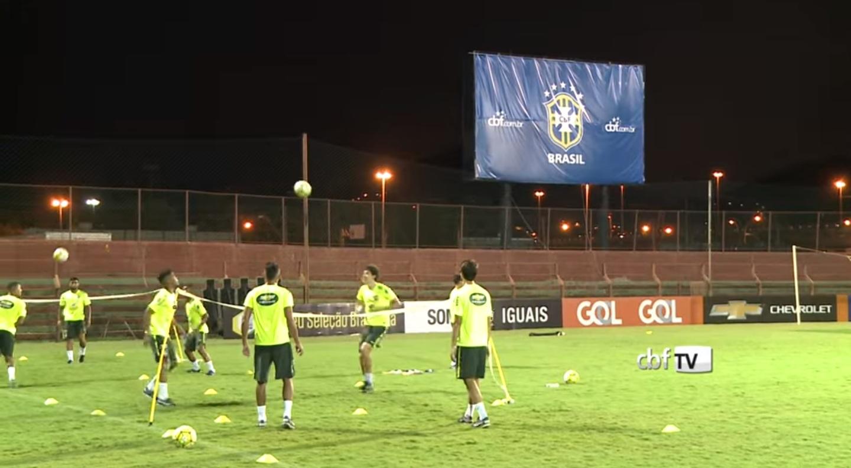 Após imprevisto, Seleção Olímpica realiza parte do 1º treino sob ...