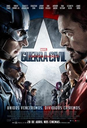 Cartaz Capitão América - Guerra Civil