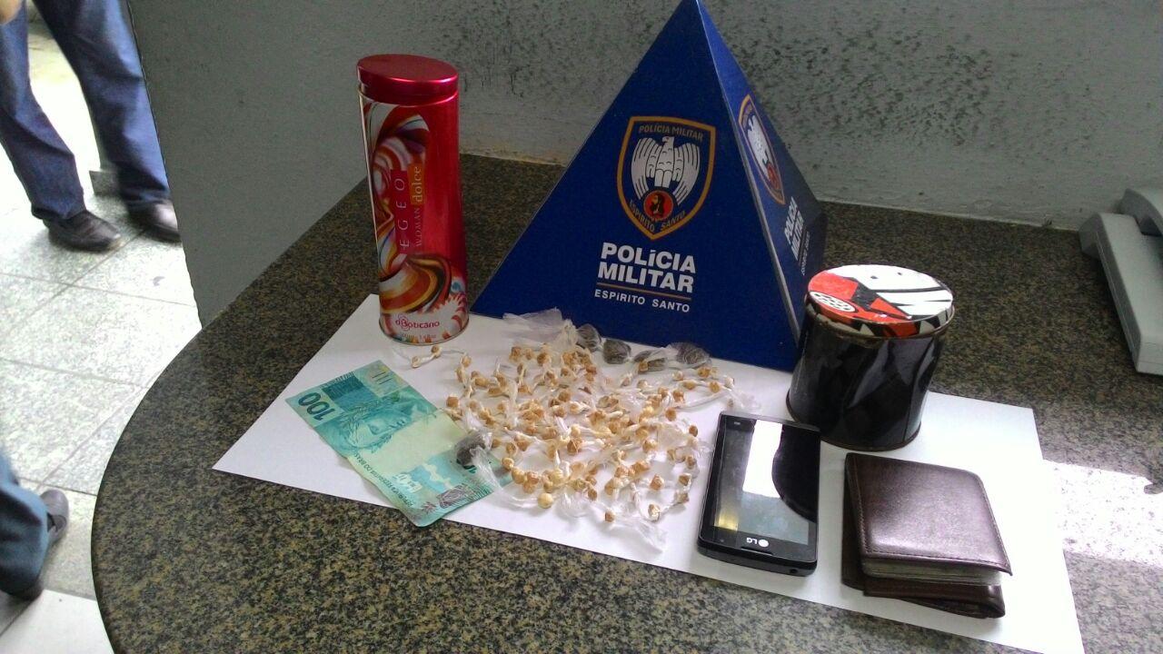 Após denúncia, Polícia Militar encontra droga escondida em ...