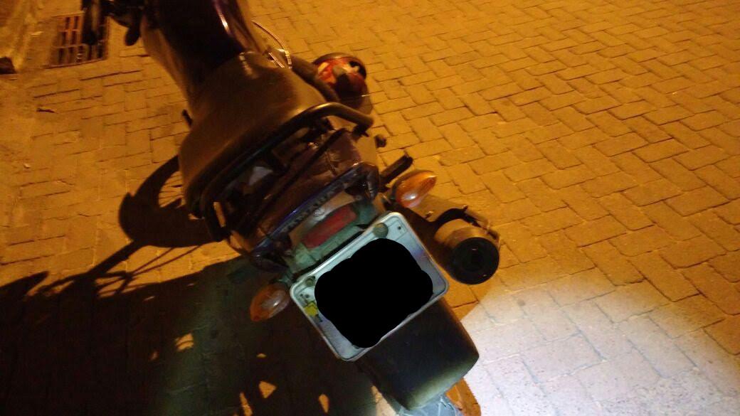 Homem é linchado e moto é encontrada com placa adulterada em VV