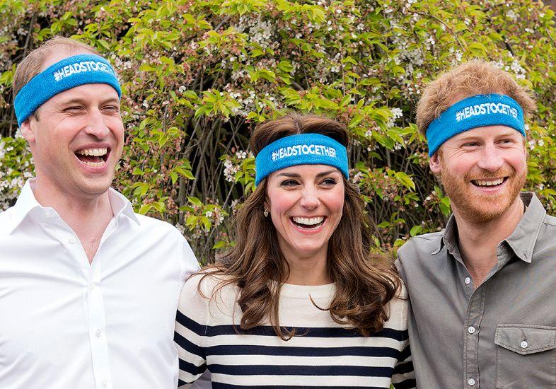 Kate Middleton e Príncipe William participam de campanha em prol ...