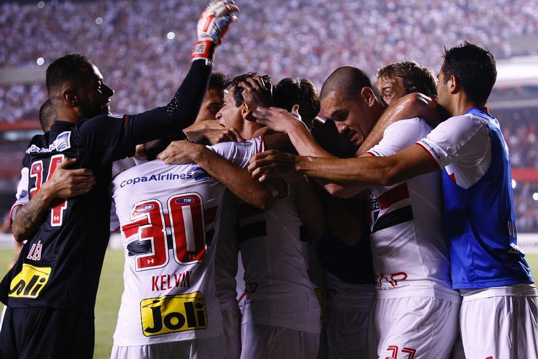 São Paulo derrota o River Plate e joga pelo empate na Bolívia para ...