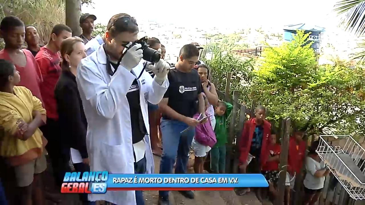 Rapaz é morto dentro de casa em Vila Velha | Folha Vitória