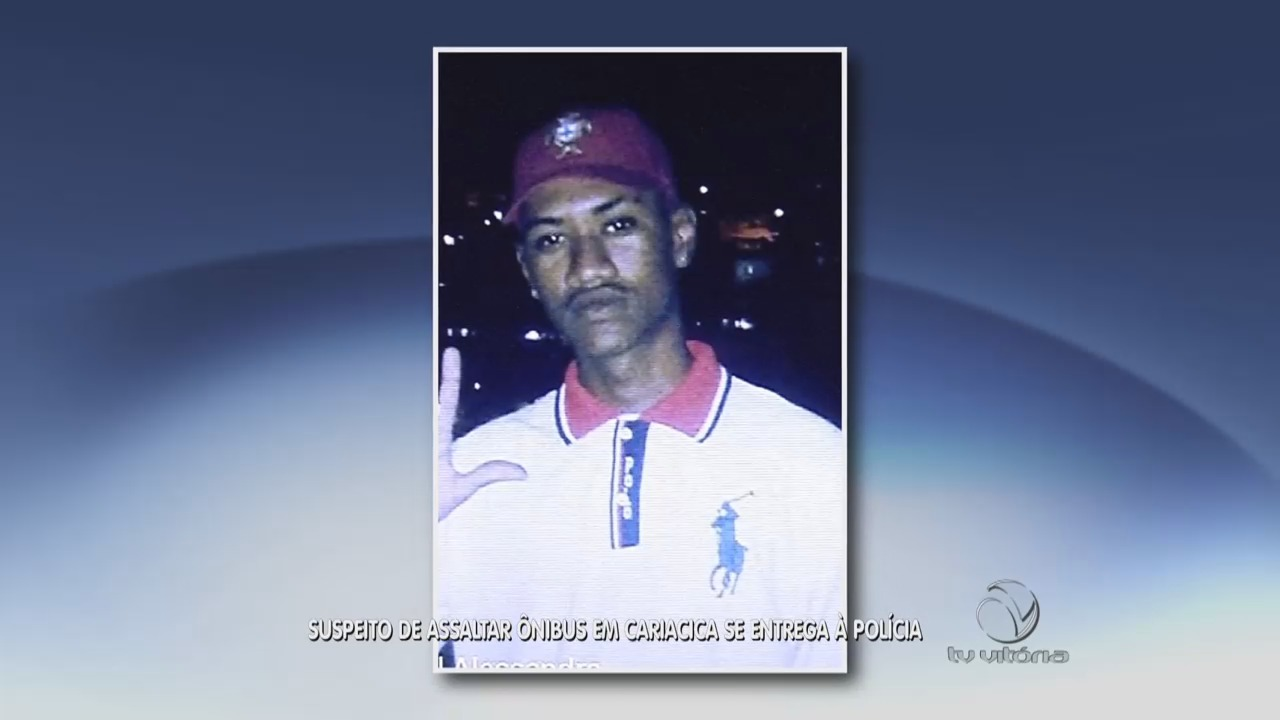 Suspeito de assaltar ônibus em Cariacica é preso | Folha Vitória