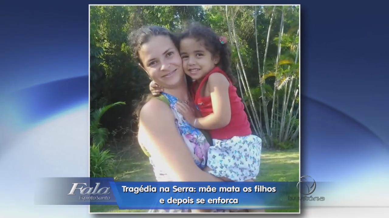 Tragédia na Serra: mãe mata os filhos e depois se enforca   Folha ...