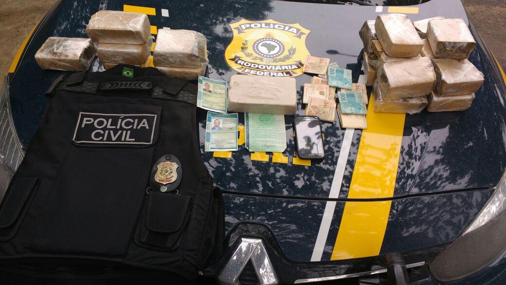 Dupla é presa com mais de 20 quilos de drogas na BR-101 em ...