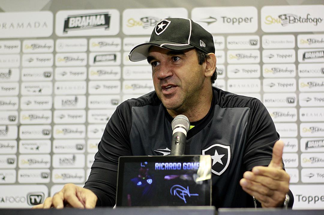Ricardo Gomes elogia Botafogo após empate: 'Merecíamos a vitória ...
