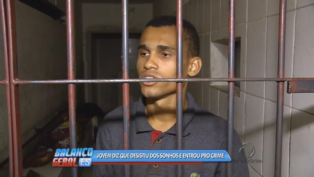 Jovem revela porque desistiu dos sonhos e entrou para o crime ...