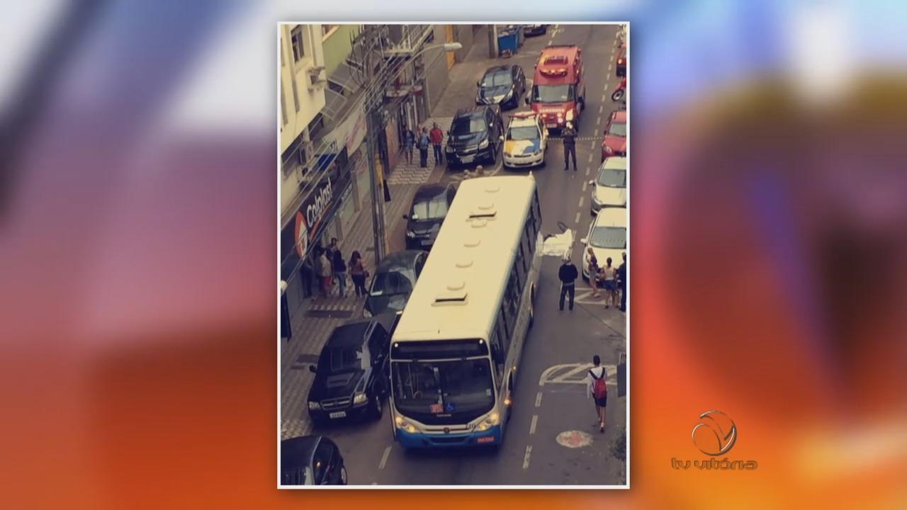 Ciclista morre atropelado por ônibus | Folha Vitória