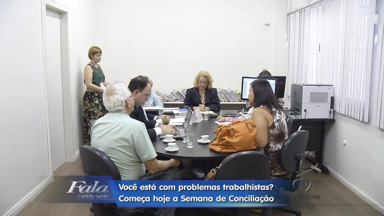 Começa hoje a Semana de Conciliação Trabalhista do TRT | Folha ...