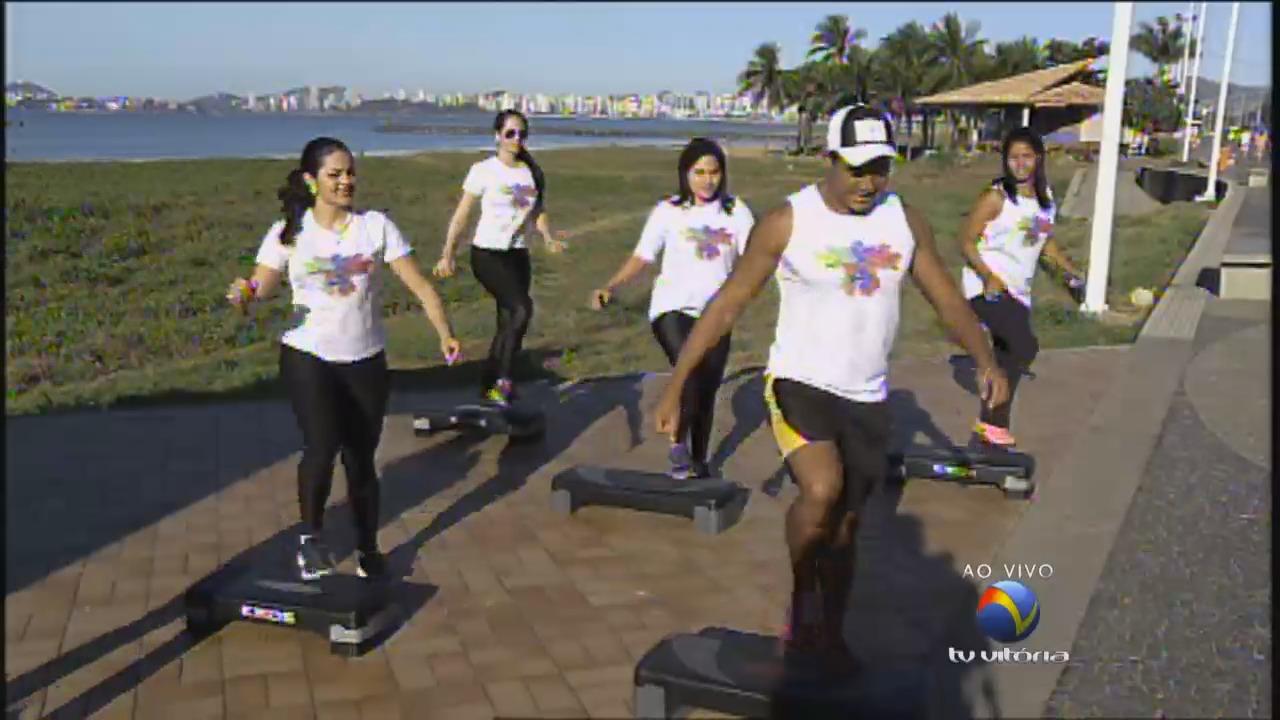 Orientação sobre atividade física de graça | Folha Vitória