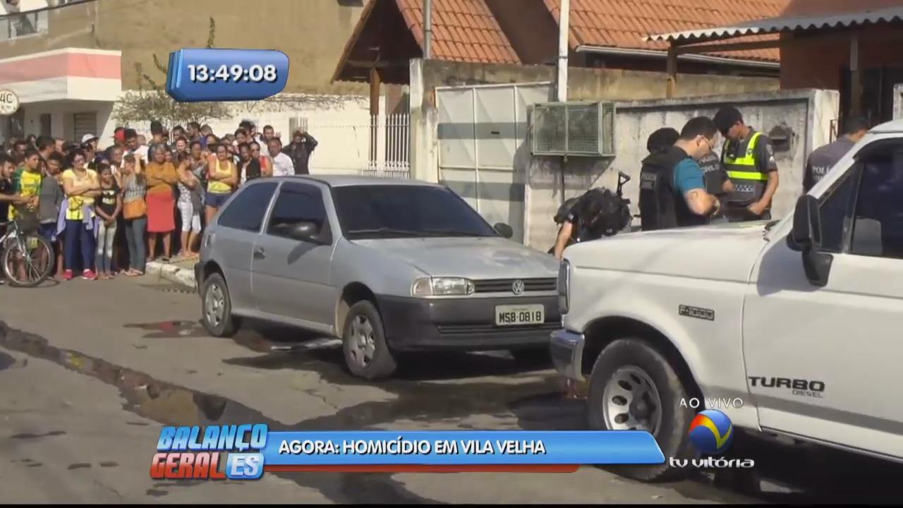 Homem é assassinado a tiros no bairro Santos Dumont | Folha Vitória