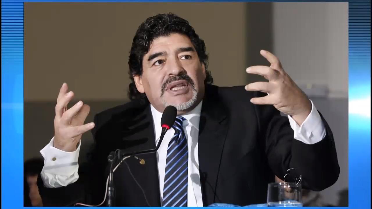 Maradona diz que seleção não precisa voltar para a Argentina se ...