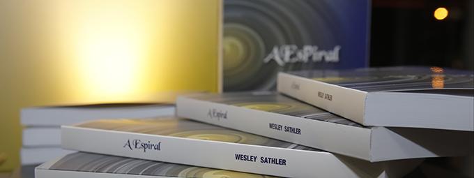 """Lançamento do livro """"A Espiral"""", de Wesley Sathler"""