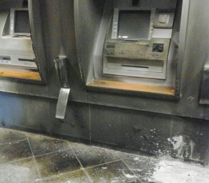 Bandidos usam óleo diesel para incendiar caixas eletrônicos em ...
