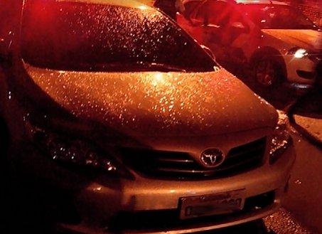 PM é atropelado por carro roubado durante blitz em Vitória | Folha ...